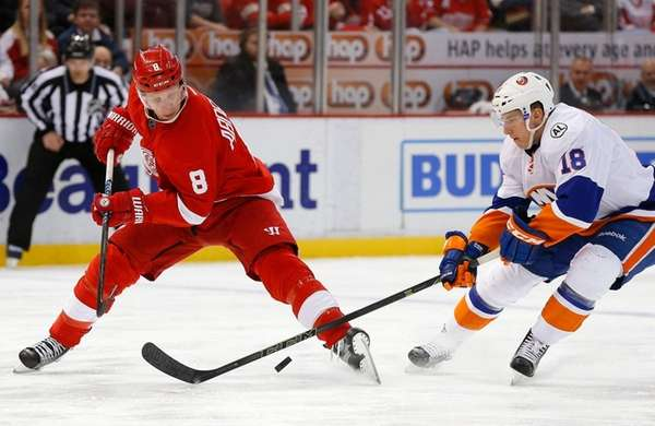 Detroit Red Wings left wing Justin Abdelkader