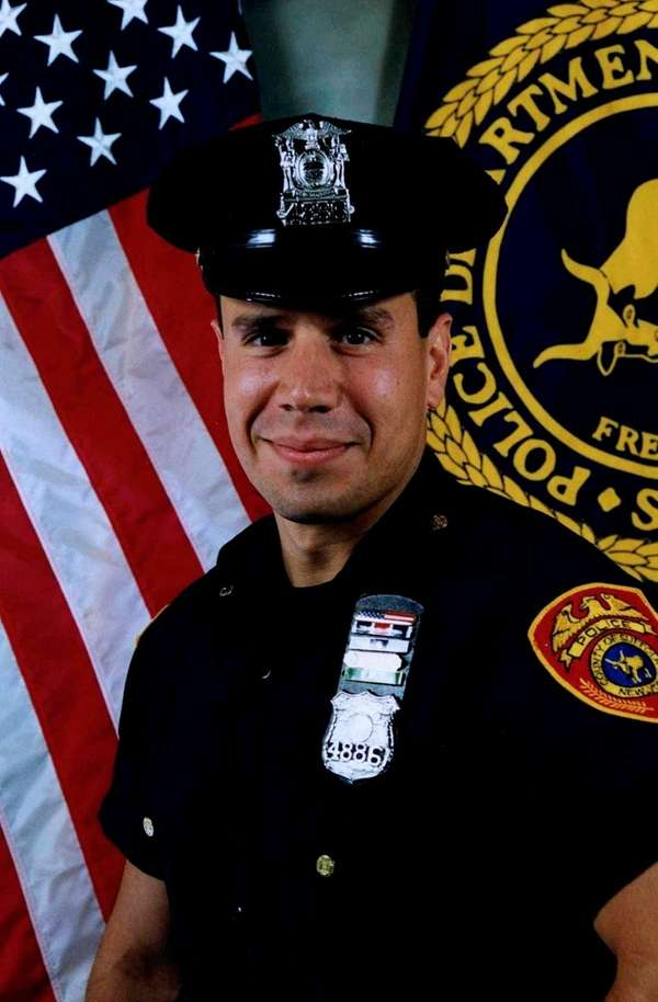 John Oliva, then a Suffolk police detective, is