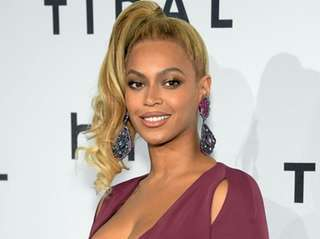 Beyonce arrives at TIDAL X: 1020 Amplified by