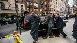 David Wichs coffin is taken from the