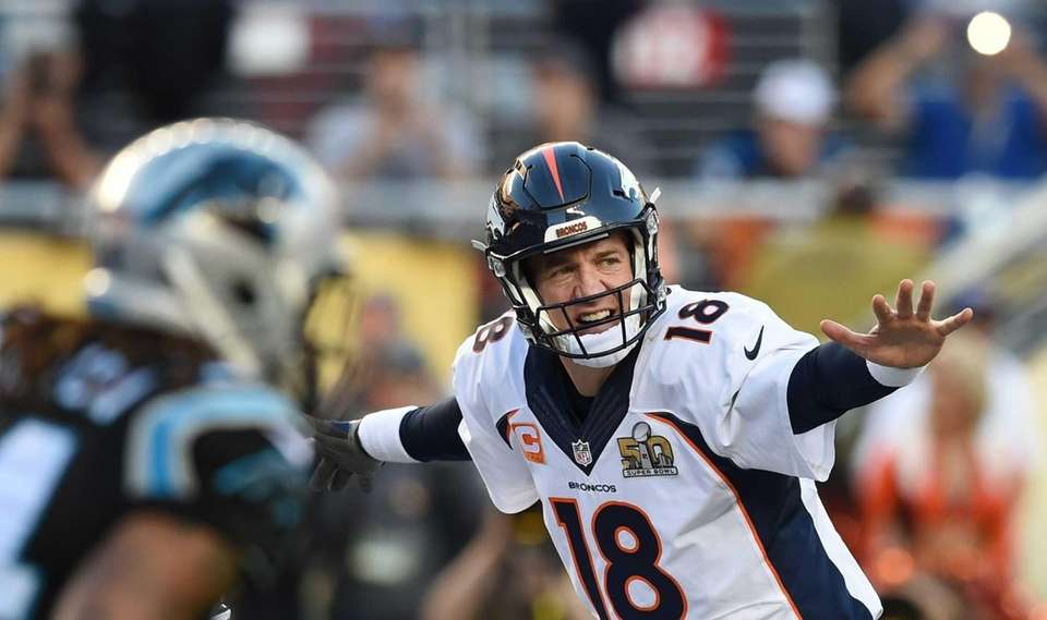 Peyton Manning, Indianapolis Colts, Denver Broncos Super Bowl