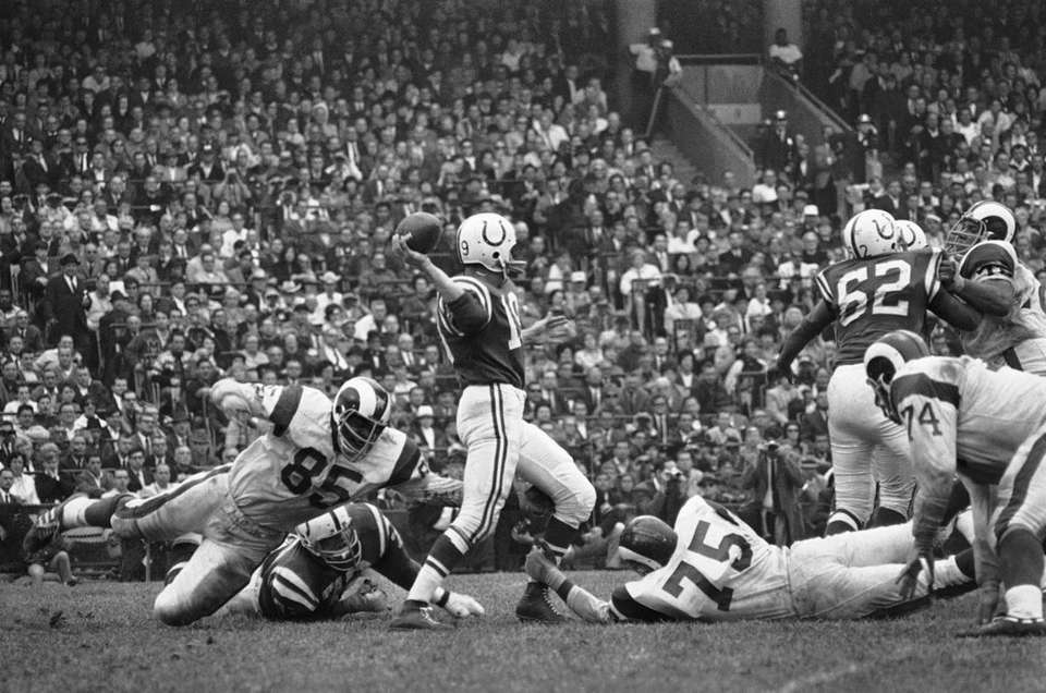 Johnny Unitas, Baltimore Colts Super Bowls won: Super