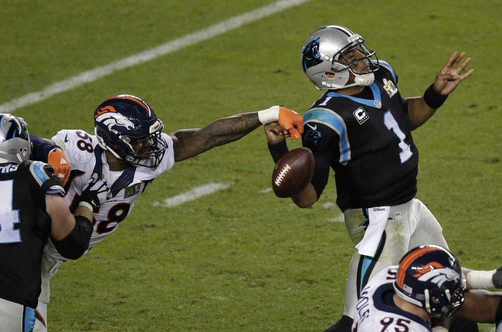SUPER BOWL 50: DENVER 24, CAROLINA 10 Levi's