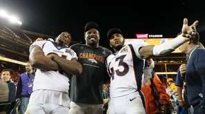 Aqib Talib, Von Miller and T.J. Ward