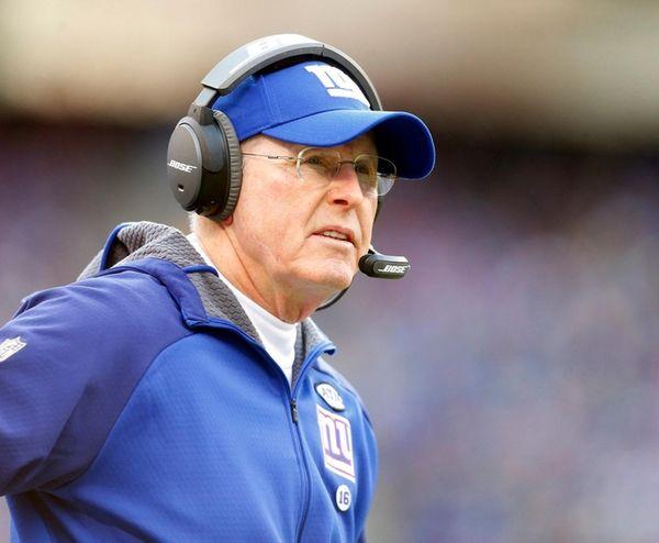 Former New York Giants head coach Tom