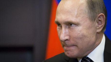Russian President Vladimir Putin is seen in Sochi,