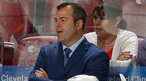 New York Rangers head coach Alain Vigneault