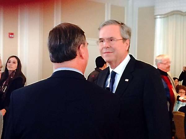 Republican presidential candidate, former Florida Gov. Jeb