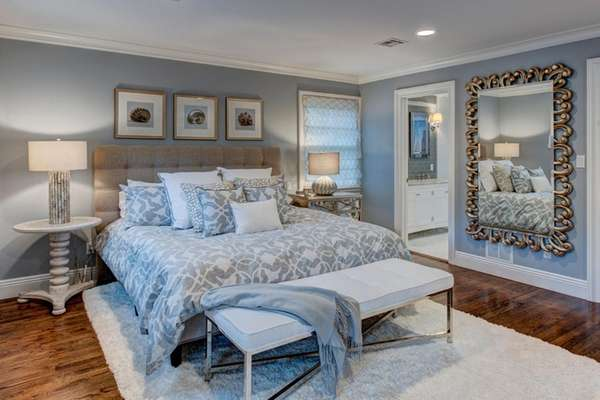 A look at a master bedroom after it