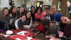 West Babylon Junior High School's Community Service Club