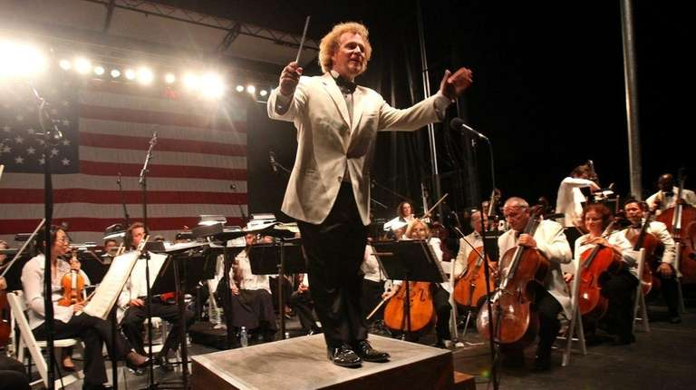 The Long Island Philharmonic, with conductor David Stewart