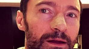 Hugh Jackman appears in photo he posted to