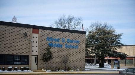 Berner Middle School, where Massapequa district officials are