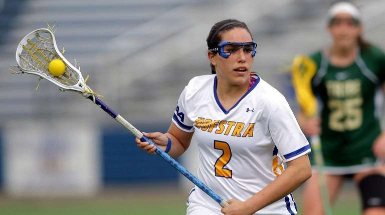 Undated photo of Hofstra womens lacrosse player Lindsey