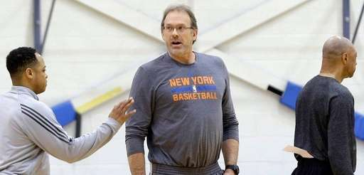 New York Knicks interim head coach Kurt