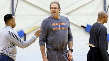New York Knicks interim head coach Kurt