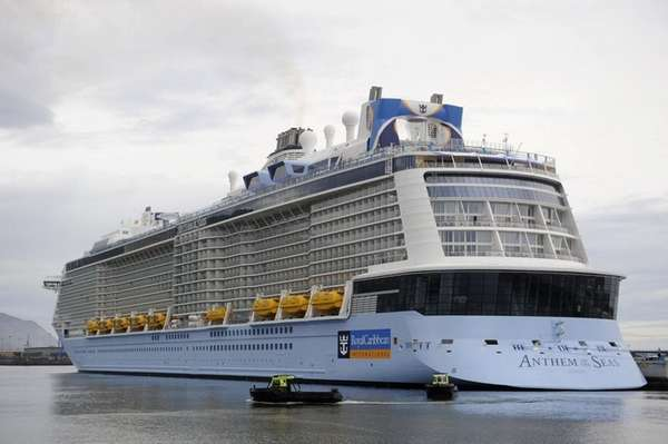 Royal Caribbean's Anthem Of The Seas is set