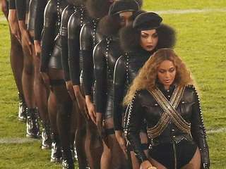 Beyoncé's performance at the Super Bowl on Sunday,
