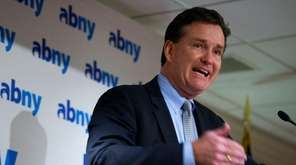 State Senate Majority Leader John Flanagan said Monday