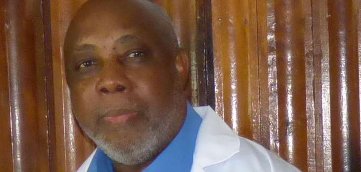 Dr. Noel Blackman has been charged with conspiracy