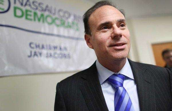 Jay Jacobs is leading Long Island's Hillary Clinton