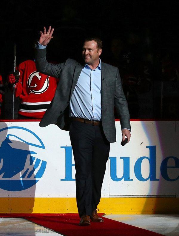 Former New Jersey Devils goaltender Martin Brodeur