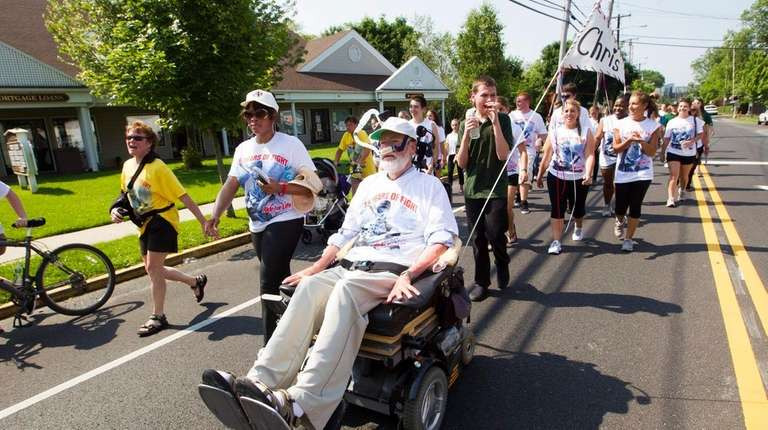 Chris Pendergast founded the ALS Ride for Life