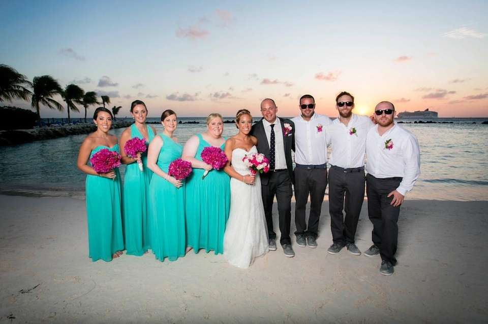 The most amazing bridal party.