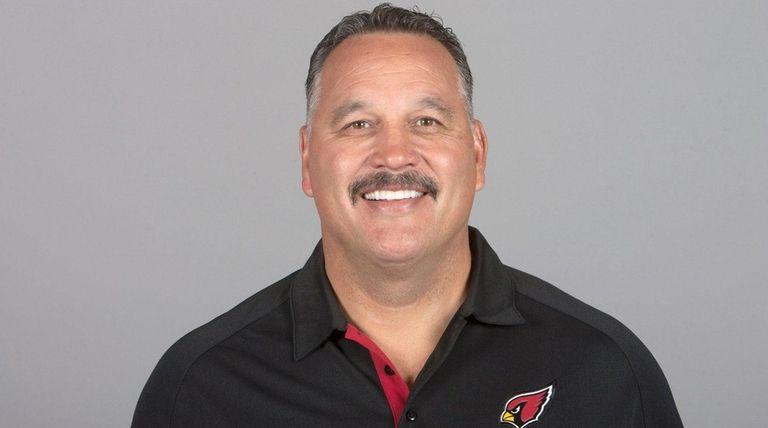 David Diaz-Infante of the Arizona Cardinals.poses for a