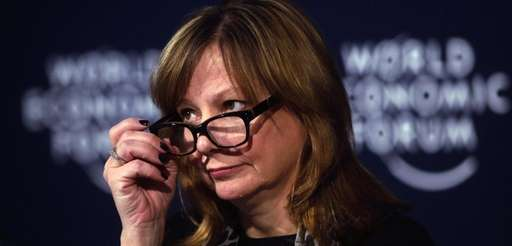 Mary Barra, chief executive officer of General Motors