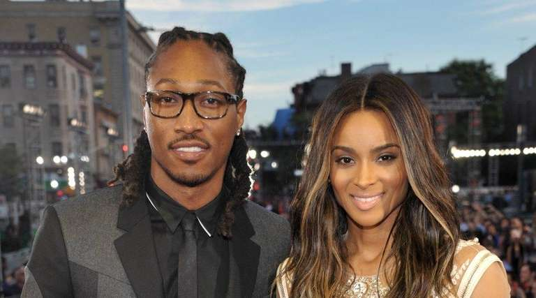 Rapper Future, left, is the target of a