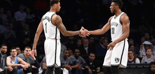 Brooklyn Nets forward Chris McCullough makes his