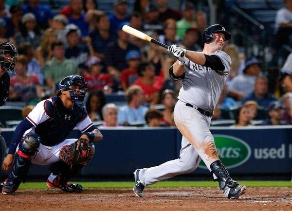 Brian McCann of the New York Yankees