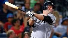 Brian McCann of the New York Yankees