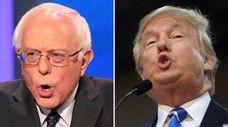 Democratic presidential candidate Sen. Bernie Sanders of Vermont,