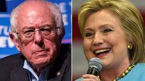Sen. Bernie Sanders and Hillary Clinton will face