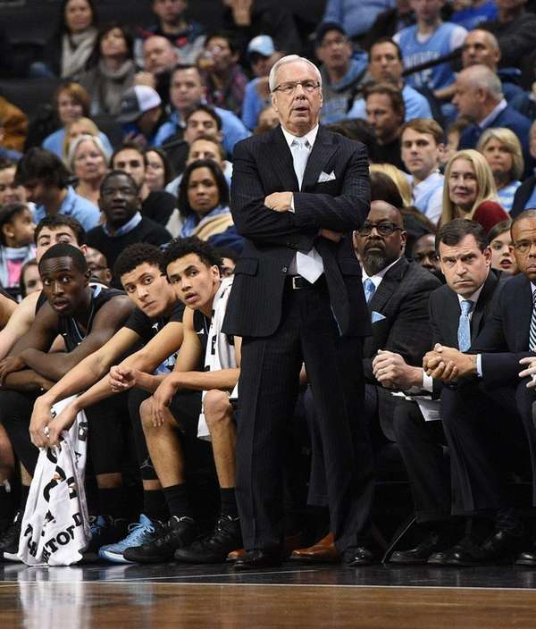 North Carolina Tar Heels head coach Roy