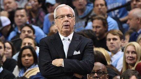 North Carolina Tar Heels head coach Roy