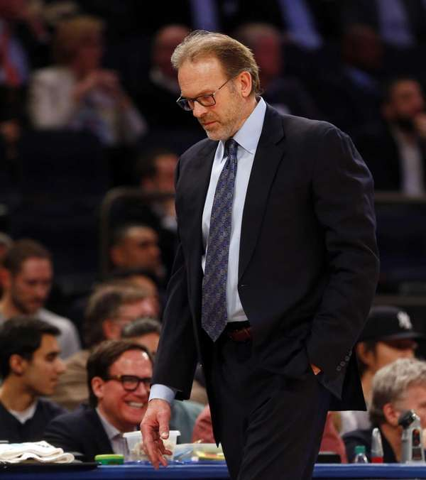 Interim head coach Kurt Rambis of the New