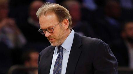 Interim head coach Kurt Rambis of the New
