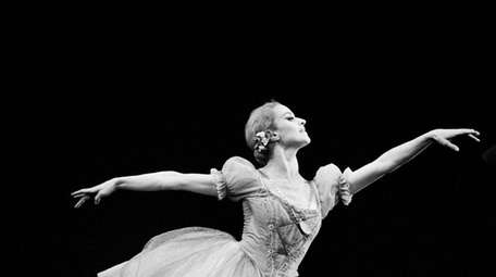 French ballerina Violette Verdy performs in