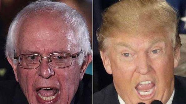 Sen. Bernie Sanders and Donald Trump won the