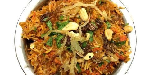 Chicken tikka biryani is one of the Indian