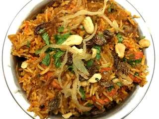 Chicken tikka biryani is one of the Indian