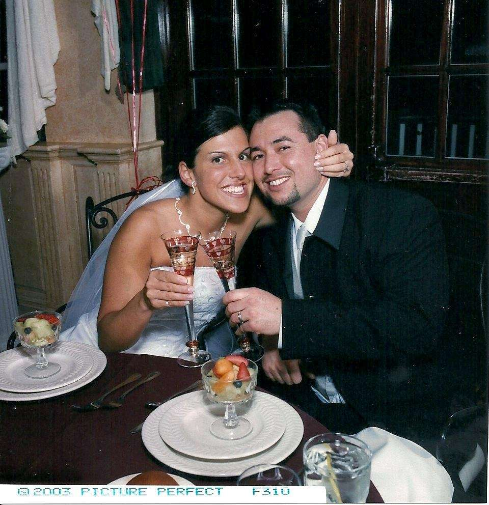 We married 13 years ago, on Valentine's Day.