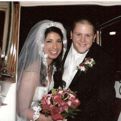 Jim and Katie Hare, married on Dec. 5,