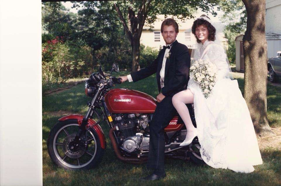 Erik and Ann Abrahamsen, married on June 15,