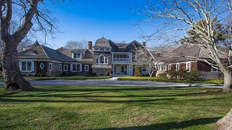 This eight-bedroom home in East Hampton's Georgica section
