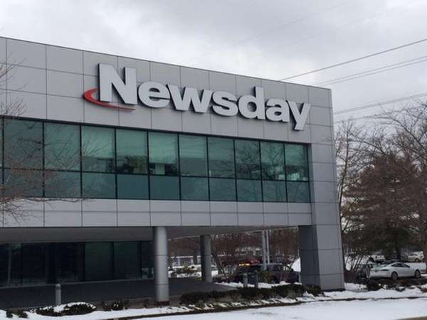 The Newsday headquarters in Melville is pictured on