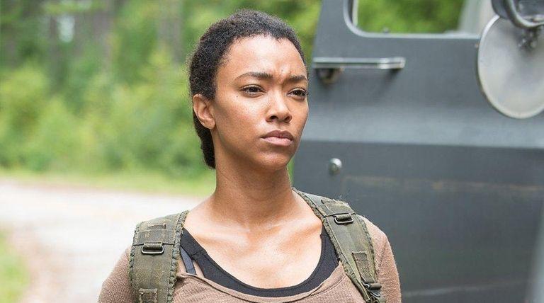 Sonequa Martin-Green stars as Sasha in AMC's midseason